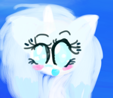 Crystal Capture Portrait by CloudsofCrystal