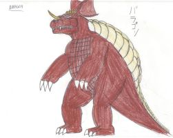 Godzilla Chronicles BARAGON by megagirus07