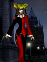 Dark Knight Harley Quinn by What-the-Gaff