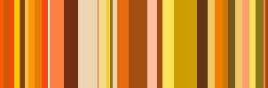 Orange color bars by bananaMAK