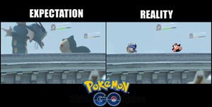 Pokemon GO Expectation by sidneymadmax