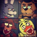 Five Nights At Freddy's by JlouCherryStar