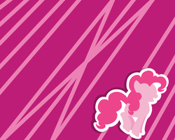 Simple Pinkie Wallpaper by Athene112
