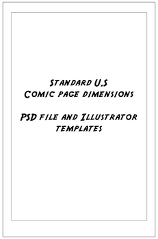 Comic Page Templates by Digi-fish