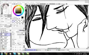 SI IT'S ANOTHER AZRAELXASH WIP by uNDYINGSILENCE