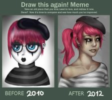 Draw This Again Meme by monsty