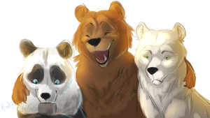 We Bare Bears by KittyWinder74