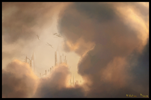 Into the Clouds by merrak