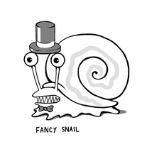 Fancy Snail by arseniic