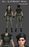 Jill Alternate BSAA mod by drakl0r