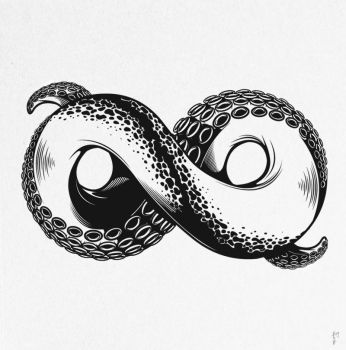 Infinity tentacle by AndrewStrauss