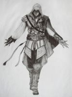 Assassins creed 2 Ezio by Fedota