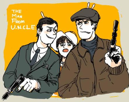 The man from U.N.C.L.E by shinderuko