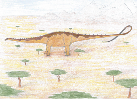 Saurocolossus by iTzAwesomesauce