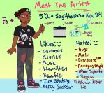 Meet The Artist by TheQueenOfDerp