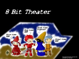 8 Bit Theater by konfuse