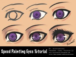 Painting EYES Tutorial by nicetsukichi