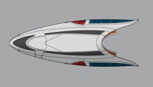 Star Trek post-TNG shuttle WIP by AdamKop
