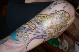 Zelda Tattoo by LEGENDofLMPF