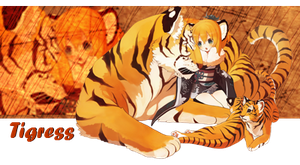Commission: Tigress by RainingKnote