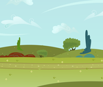 Mlp Road Background by MLP-Scribbles