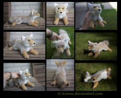 SOLD Plushie: Tolinka the Coyote by Avanii