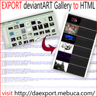 EXPORT da Gallery to HTML by pa-he