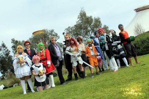 Manifest 2012: fairy tail cosplay group by iluvmj4everrr