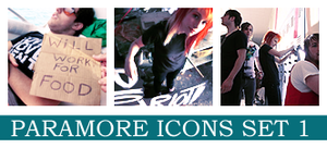 Paramore Icons by disasteria