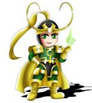 Loki Chibi by ExoroDesigns