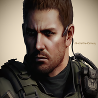 Chris Redfield RE6 by JillValentinexBSAA