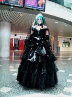 vocaloid - black bride by victoryofjoy