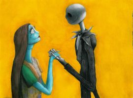 Jack and Sally by causelessdemon