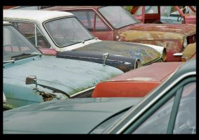Dead Cars IV by Amalgamax