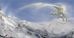 Arctic Winds by Dark-Fire-Dragoness