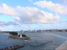 The Port at Nassau by AirTyler