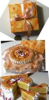 citrus cake - 1:6 miniature by Neko-Art