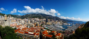 Panorama Monaco City - Monte Carlo / Summer 2013 by jolle-pe