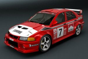Mitsi Evo WRC TME by motionmedia