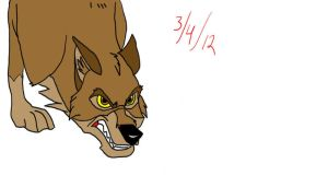Enraged Balto by BlackBlood100