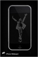Michael Jackson iPhone Wall... by lynxdesign