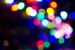 High res Bokeh -- Christmas lights 02 by JL-ArtandStock