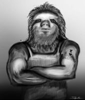 Human Sloth by FelFortune