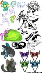 Art Dump Juli 2014 by ZombiDJ
