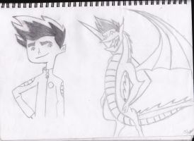 Jake Long The American Dragon by jayjay-17
