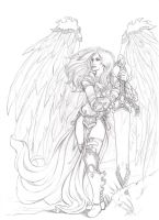 Akroma, Angel of Wrath by ritam