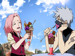 Ice cream time! by AnimeNarutoByeBye