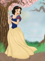 Snow White Traditional Style by LittleMissJo