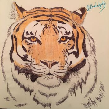Sangha the Tiger by BlueWyst