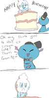 Ice cream in a cake? Preposterous by sweetinsanity364